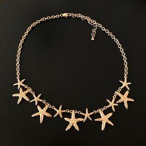 Jewelry - Gold starfish necklace